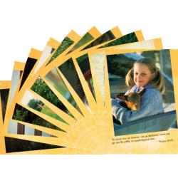 Grieks, Ansichtkaart met Bijbeltekst, Kinderen