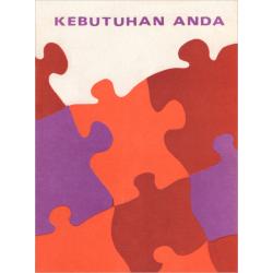 Indonesisch, Brochure, Noodzaak