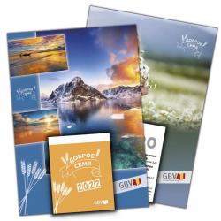 Russisch, Kalender, Het Goede Zaad, Blok en Schild, 2022