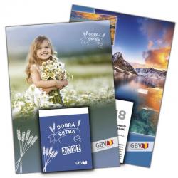 Tsjechisch, Kalender, Het Goede Zaad, Blok en Schild, 2022