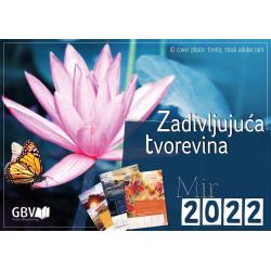 Kroatisch, Kalender, Fascinerende Schepping, 2022