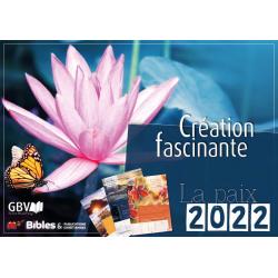 Frans, Kalender, Fascinerende Schepping, 2022