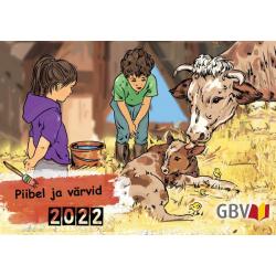 Estlands, Kalender, Kleuren bij de Bijbel, 2022