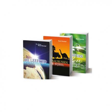 Hof - Leeftijd - Dinosaurussen, Ken Hovind (set van 3)