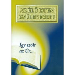 Hongaars, Brochure, De gemeente van de levende God