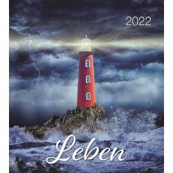 Duits, Kalender met Ansichtkaarten LEVEN, 2022