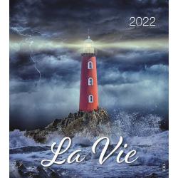 Frans, Kalender met Ansichtkaarten LEVEN, 2022