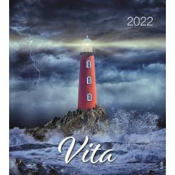 Italiaans, Kalender met Ansichtkaarten LEVEN, 2022