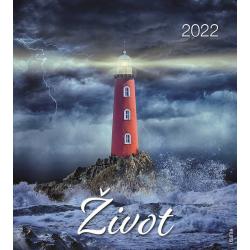 Kroatisch, Kalender met Ansichtkaarten LEVEN, 2022