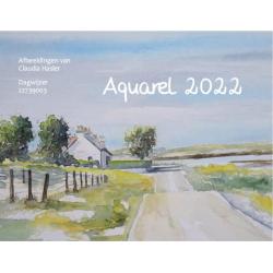 Nederlands, Kalender, Aquarel - HSV, 2022
