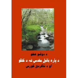 Pashtoe, Bijbelstudie, 12 weken Bijbel overzicht