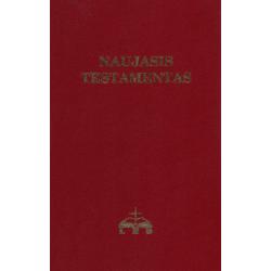 Litouws, Nieuw Testament, Groot formaat, Paperback, Rood