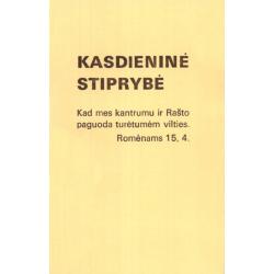 Litouws, Brochure, Dagelijkse sterkte