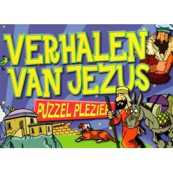 Doeboek, Verhalen van Jezus - Puzzel plezier, Tim Dowley
