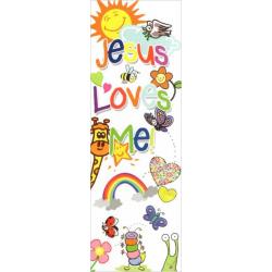 Engels, Boekenlegger, Jesus loves me!
