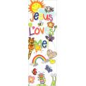 Engels, KInder-Boekenlegger, Jesus loves me!