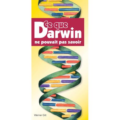 Frans, Traktaat, Wat Darwin nog niet kon weten, Werner Gitt