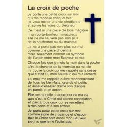 Frans, Pocketkruisje