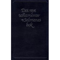 Noors, Nieuw Testament & Psalmen, Groot formaat, Harde kaft