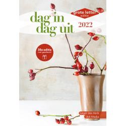 Nederlands, Bijbelsdagboek, Dag in dag uit - Grote letter editie, 2021