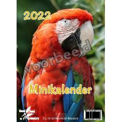 Nederlands, Minikalender Dieren, 2022