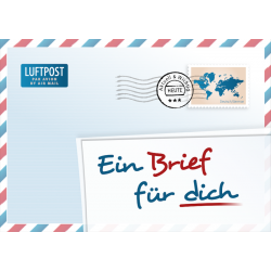 Duits, Brochure, Een brief voor jou!