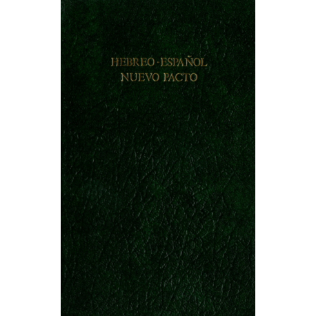 Hebreeuws-Spaans, Nieuw Testament, Medium formaat, Harde kaft