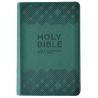 Engels, Bijbel, NIV, Medium formaat, Leer, Groen