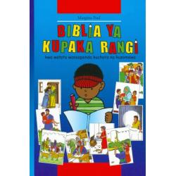 Swahili Kinderbijbel met kleurboek.