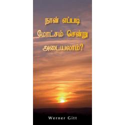 Tamil, Traktaat, Hoe kom ik in de hemel?, Werner Gitt